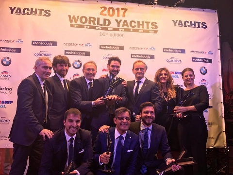 Ferretti Group собрала World Yachts Trophies