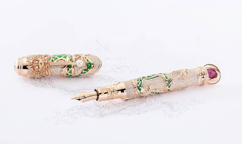 Коллекция High Artistry Homage to Kangxi Limited Editions от Montblanc