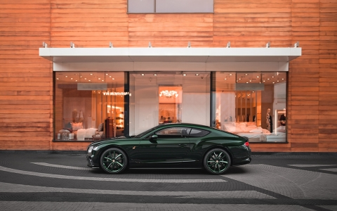 Bentley Continental GT Number 9 Edition от Mulliner