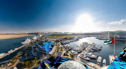 Yas Marina готовится к гонке Formula 1 - ETIHAD AIRWAYS ABU DHABI GRAND PRIX