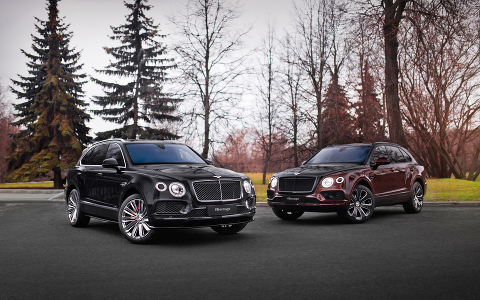 Bentley Bentayga Speed и Bentayga V8 Design Series