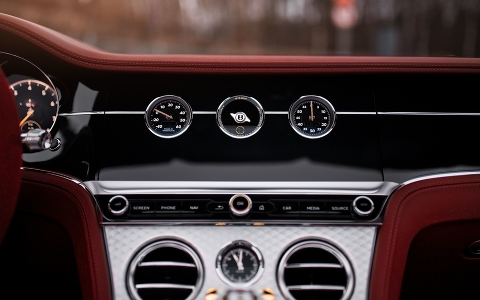 Bentley Continental GT Convertible Number 1 Edition от ателье персонализации Mulliner